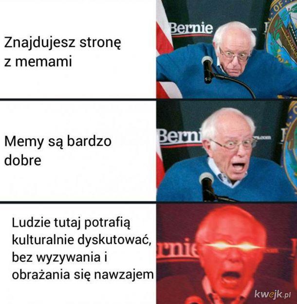 Strona z memami