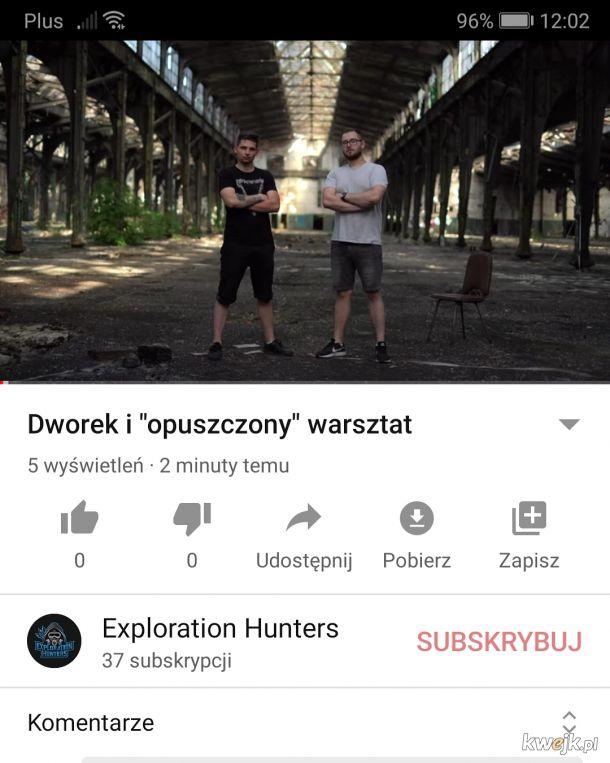Urbex - opuszczony dworek