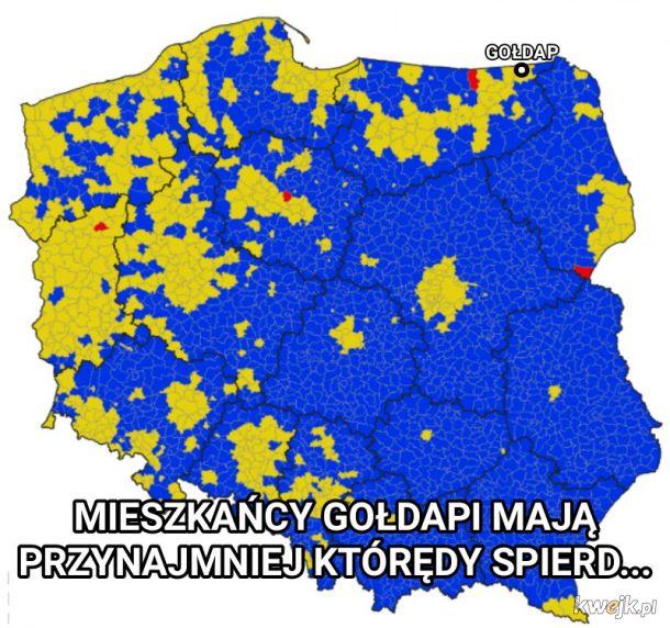 Trzymajcie się tam w tej Warszawie...