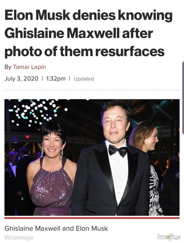 Bohaterowie stulejarni odc. 5 Elon Musk tym razem z dziewczyna Epsteina
