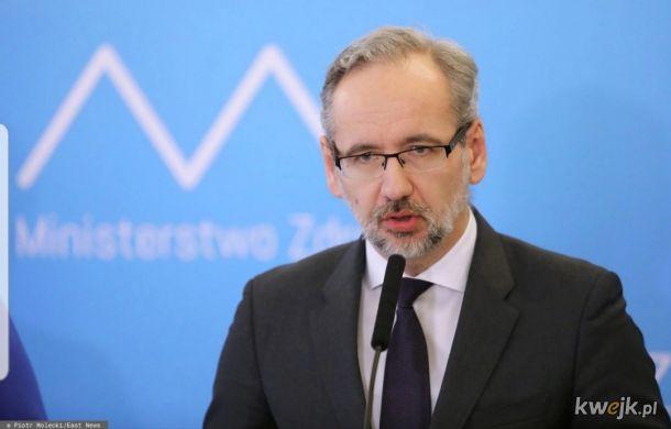 Panie i Panowie - oto nowy Minister Choroby, ekonomista dr Adam Niedzielski