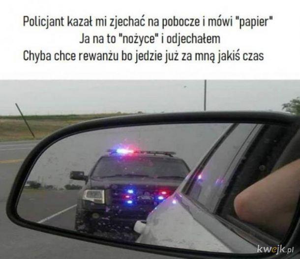 Zabawa z policjantem
