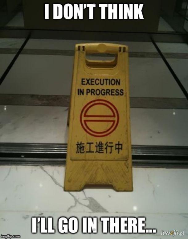 Prosimy nie przeszkadzać
