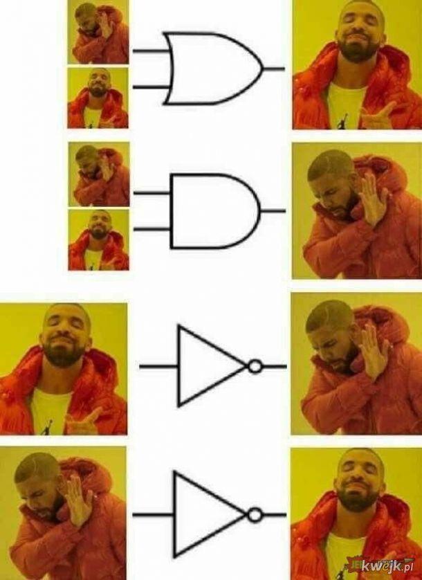 Memiczne bramki logiczne ;-)
