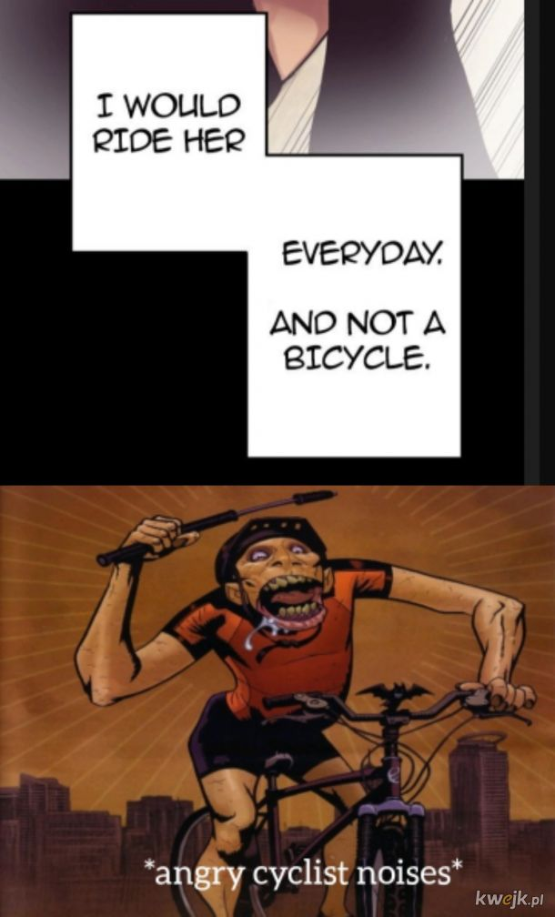 Ja tam wolę rower