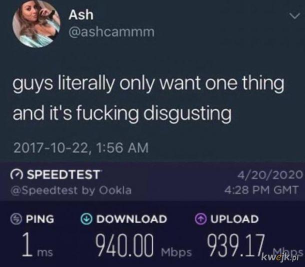 Faceci chcą tylko jednego