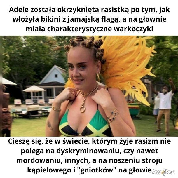 Adele rasistką