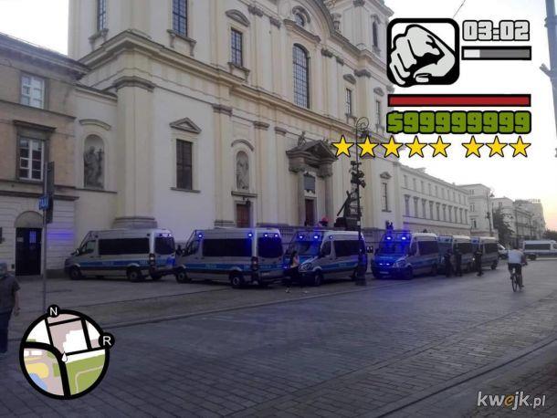 Jak dobrze, że policja dba o nasze bezpieczeństwo!