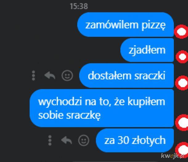 Pizza za 30 złotych