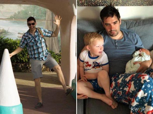 Przed i po dzieciach