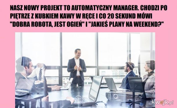 Automatyczny manager