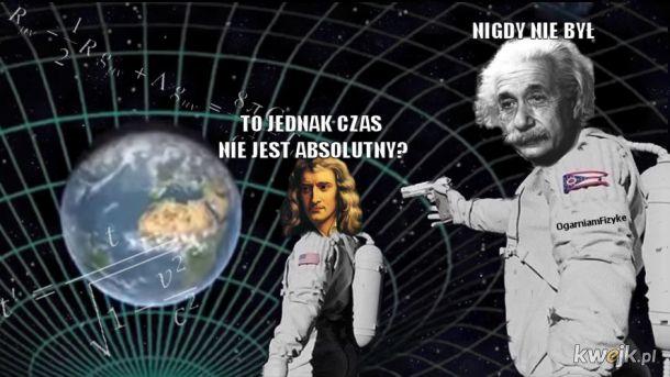 Memowa lekcja fizyki