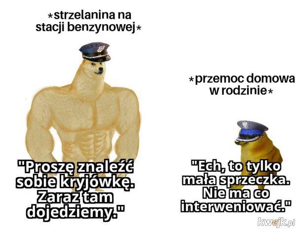 Amerykańska policja vs. polska policja