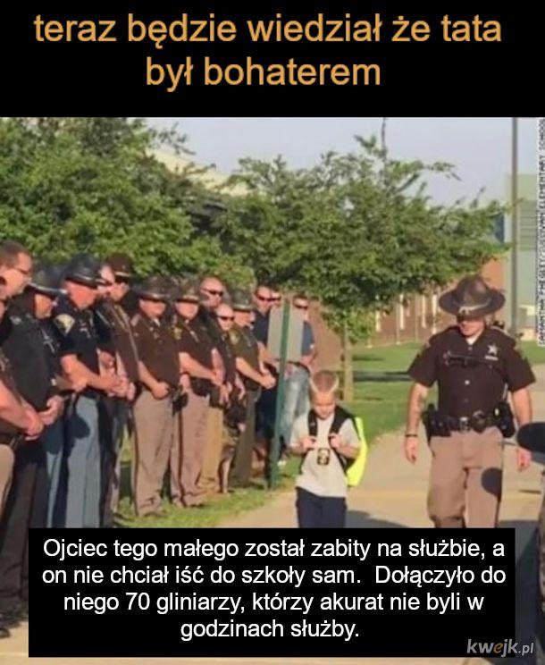 Syn policjanta