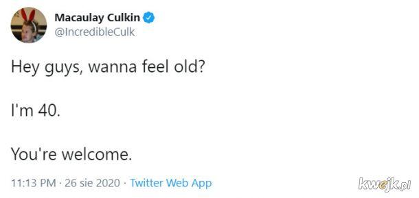 Tak, czuję się staro