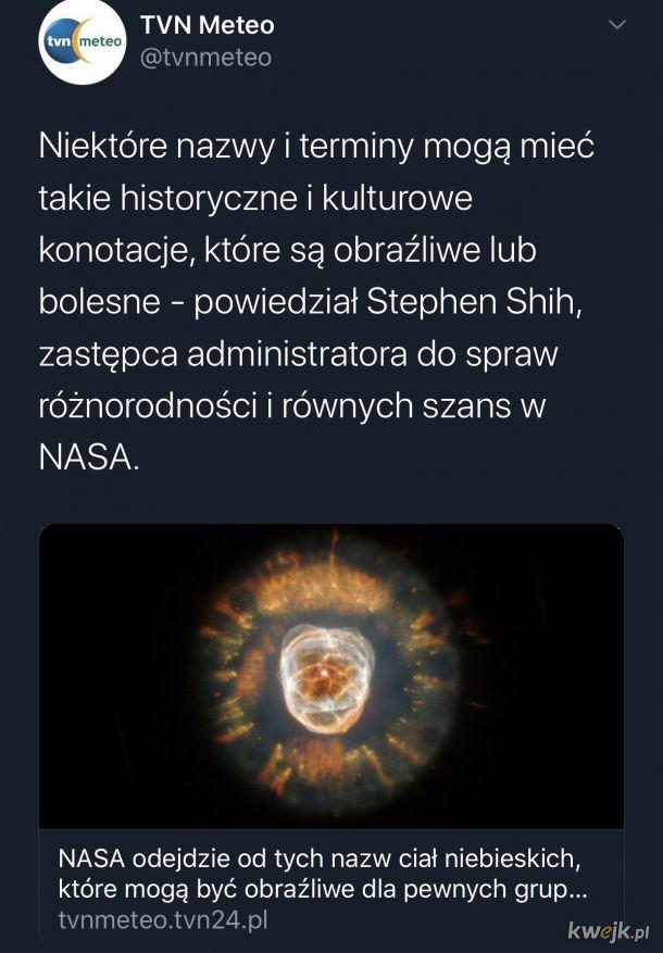 Paczcie drogie dzieci, oto sowicie opłacany specjalista z NASA