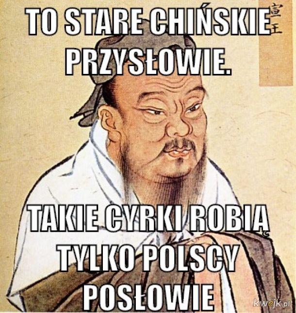 chińskie przysłowie