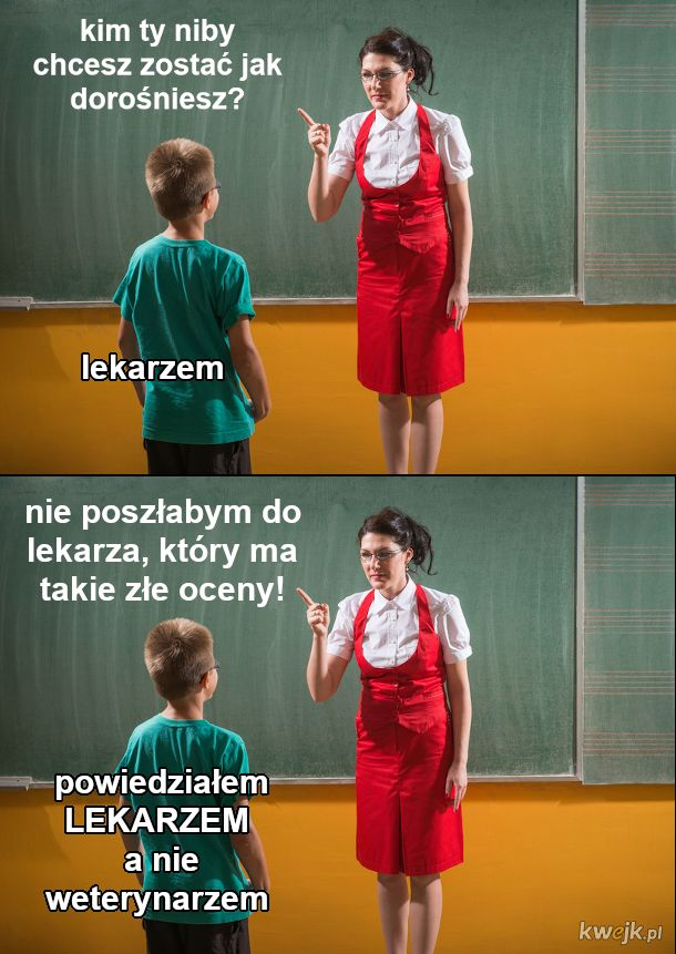 Nauczycielko, nie bądź s*** dla uczniów