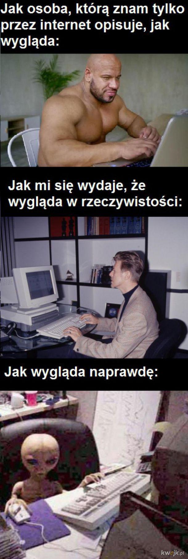 Znajomość z internetu