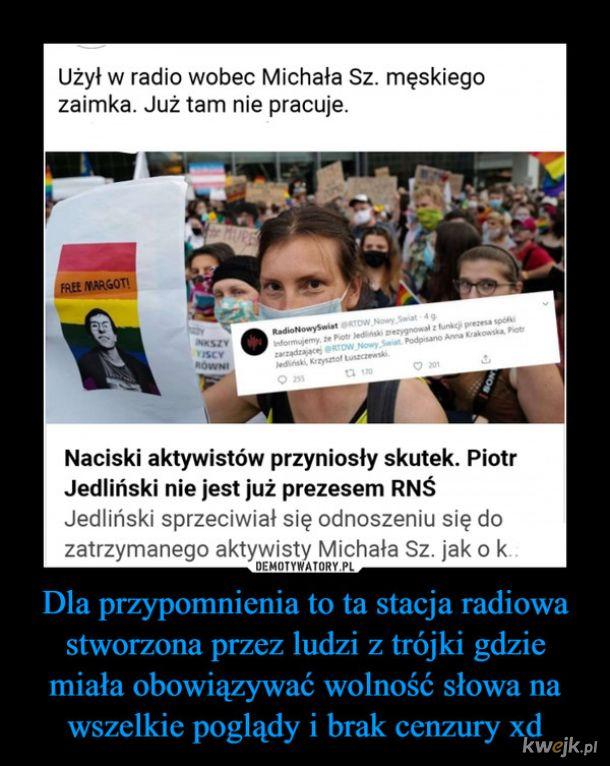 """Lewicowa """"tolerancja"""""""