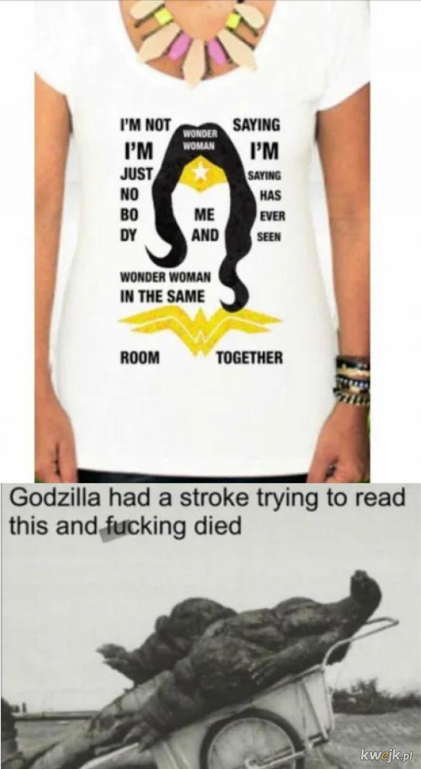 Biedna Godzilla