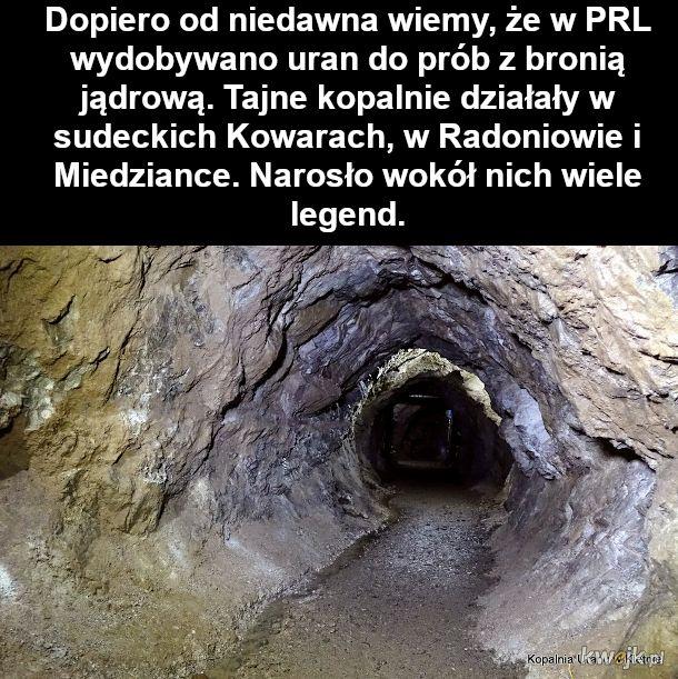 Historia tajnych kopalń uranu w Polsce za porozumieniem Polski i ZSRR