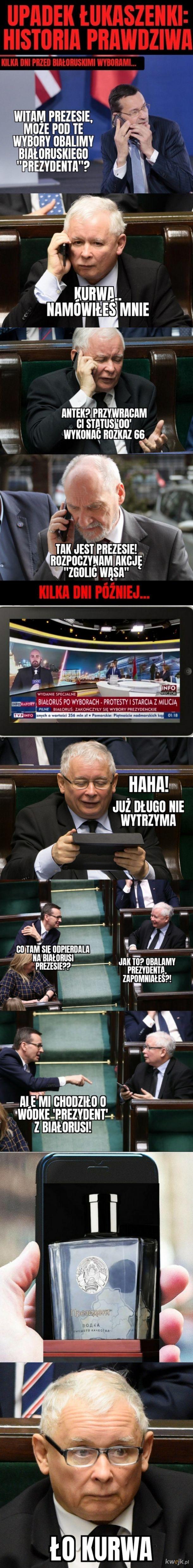 Upadek Łukaszenki