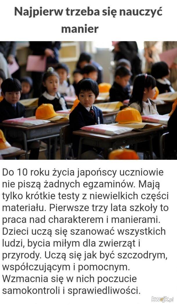 Japończycy słyną z inteligencji, zdrowia, wychowania i systemu oświaty. W czym tkwi ich sekret, że są tacy fajni?