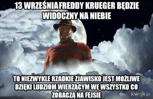 Do Ziemi zbliża się Freddy Krueger. Czy to koniec świata?