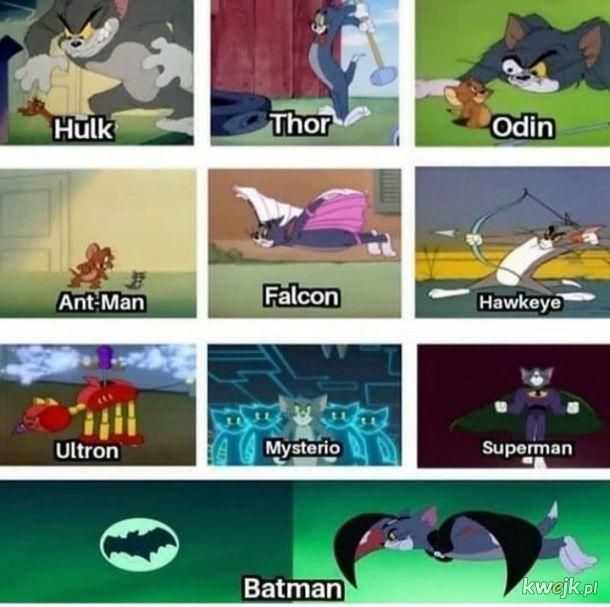 Tom jest ultimate super bohaterem