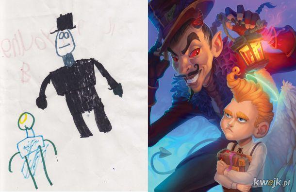 The Monster Project - artyści odtwarzają dziecięce rysunki potworów