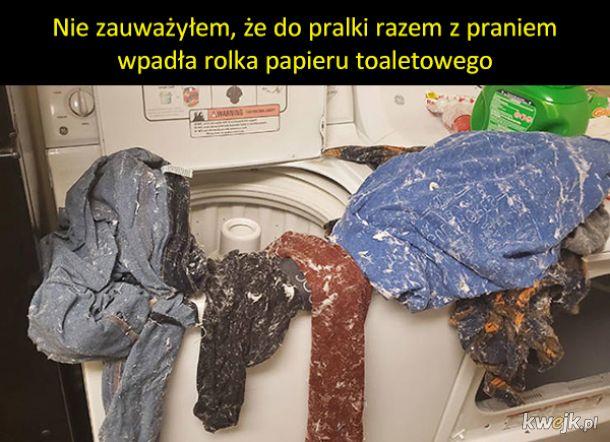 Wypadki przy praniu