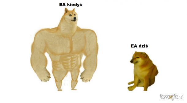 EA kiedyś a dziś