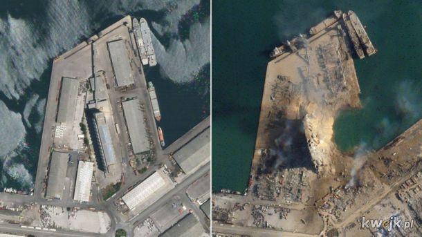 Bejrut przed i po