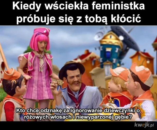 Wściekła feministka