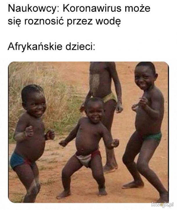 Koronawirus w Afryce