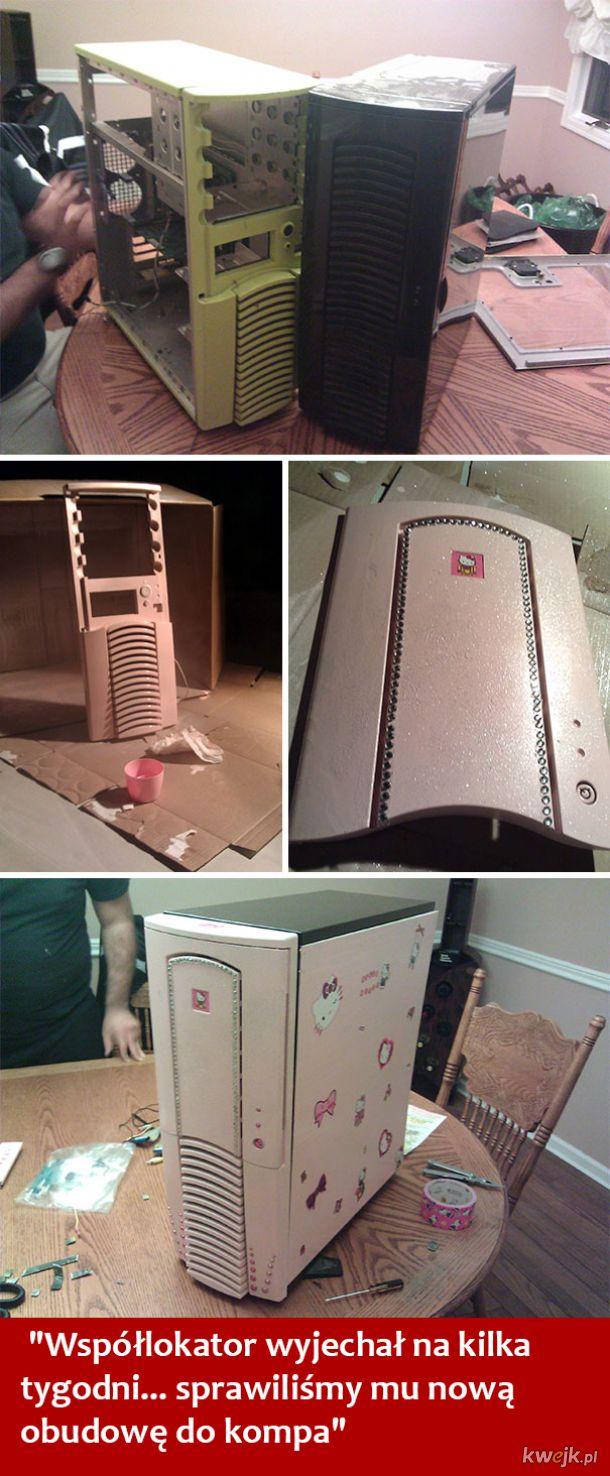 Jak to jest mieszkać ze współlokatorem - te zdjęcia mówią wszystko, obrazek 19