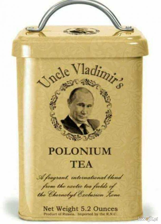 Zwalająca z nóg herbatka Putina