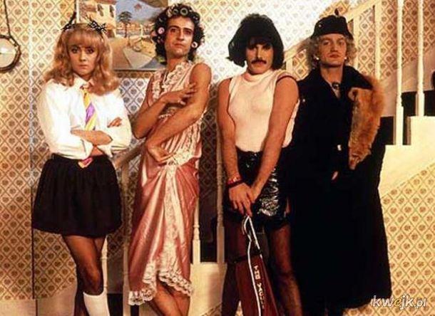 Banda przebierańców popowych a ty śmiesz nazywać ich bogami rocka
