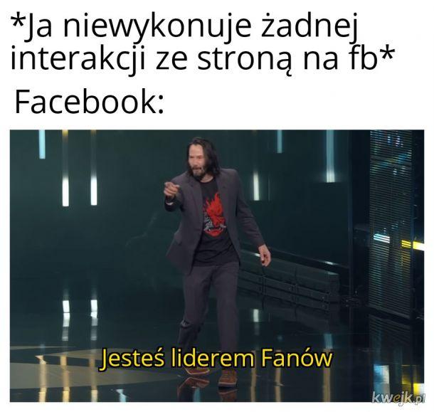 Typowy Facebook