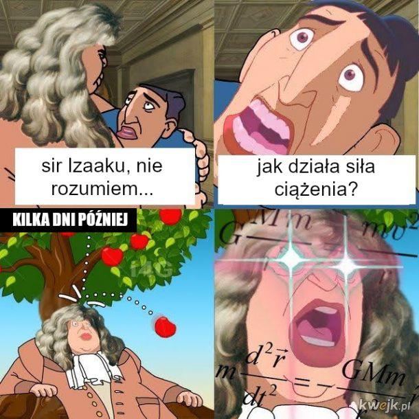 Sir Izaak Newton