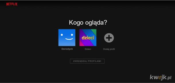 Nowa aktualizacja panelu Netflixa?