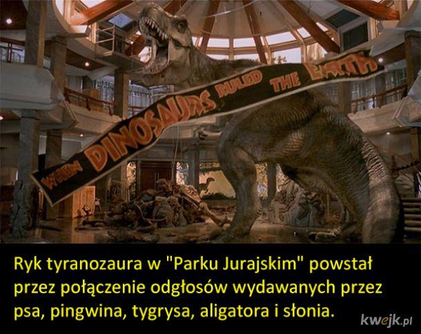 """Ciekawostki o filmach z serii """"Park Jurajski"""""""