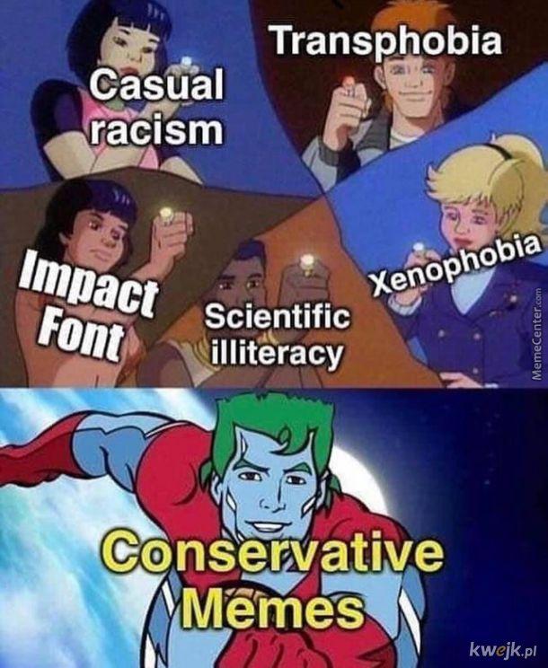 Prawica nie umie w memy