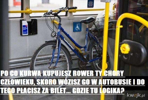 Kup rower - woź go w autobusie