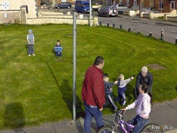 Dziwne zdjęcia z Google Street View