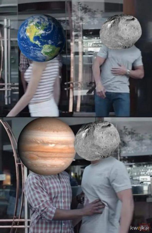 Kosmiczne heheszki.