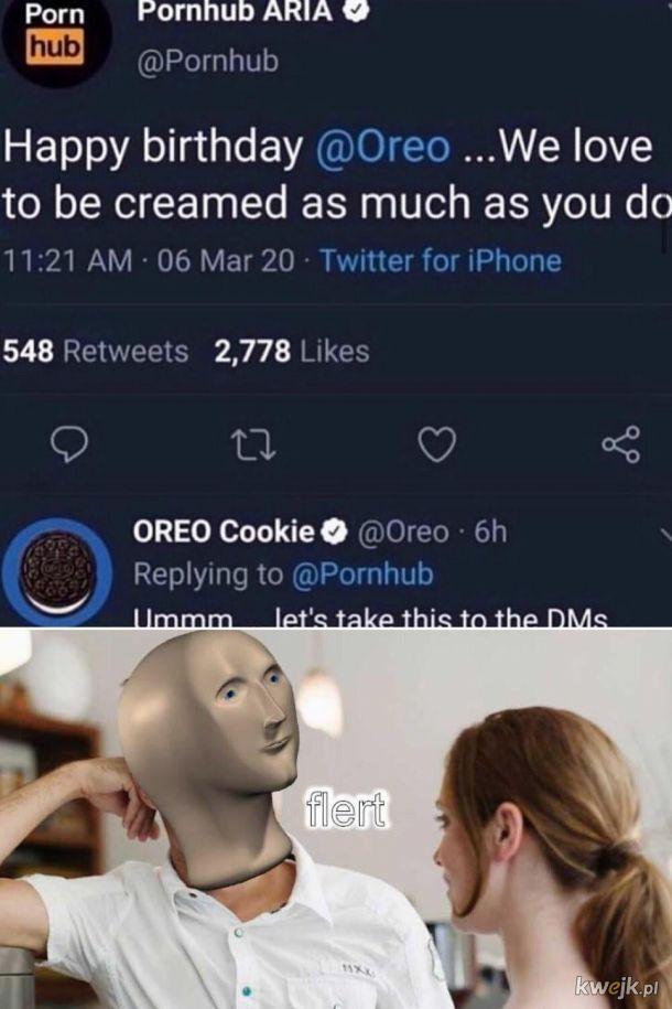Oreo be like