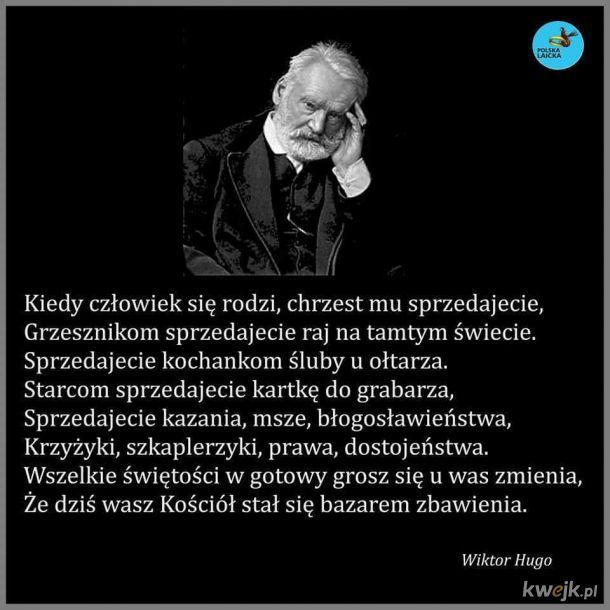 Francuski pisarz, poeta, dramaturg i polityk. Jeden z najważniejszych twórców literatury francuskiej i czołowy przedstawiciel romantyzmu francuskiego.