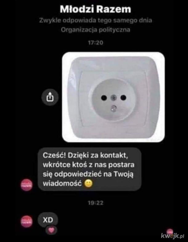 Dzięki za kontakt